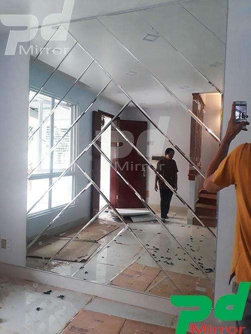 Gương ghép hình thang